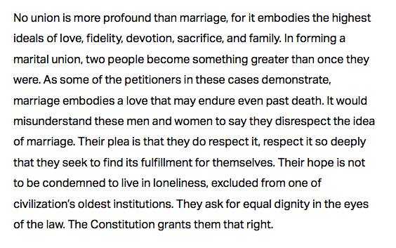 Supreme Court Ruling in Favor of Gay Marriage - Obergefell vs Hodges Decision
