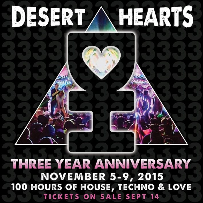 DESERT HEARTS FALL 2015 - 3-YEAR ANNIVERSARY | LOS COYOTES INDIAN RESERVATION (SOUTHERN CALIFORNIA) | NOVEMBER 5-9