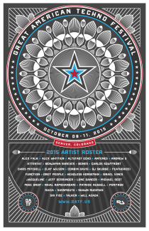 GREAT AMERICAN TECHNO FESTIVAL GATF 2015 | DENVER CO | OCTOBER 8-11