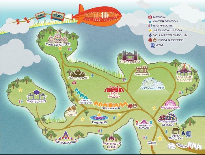 SYMBIOSIS 2015 - MAIN MAP