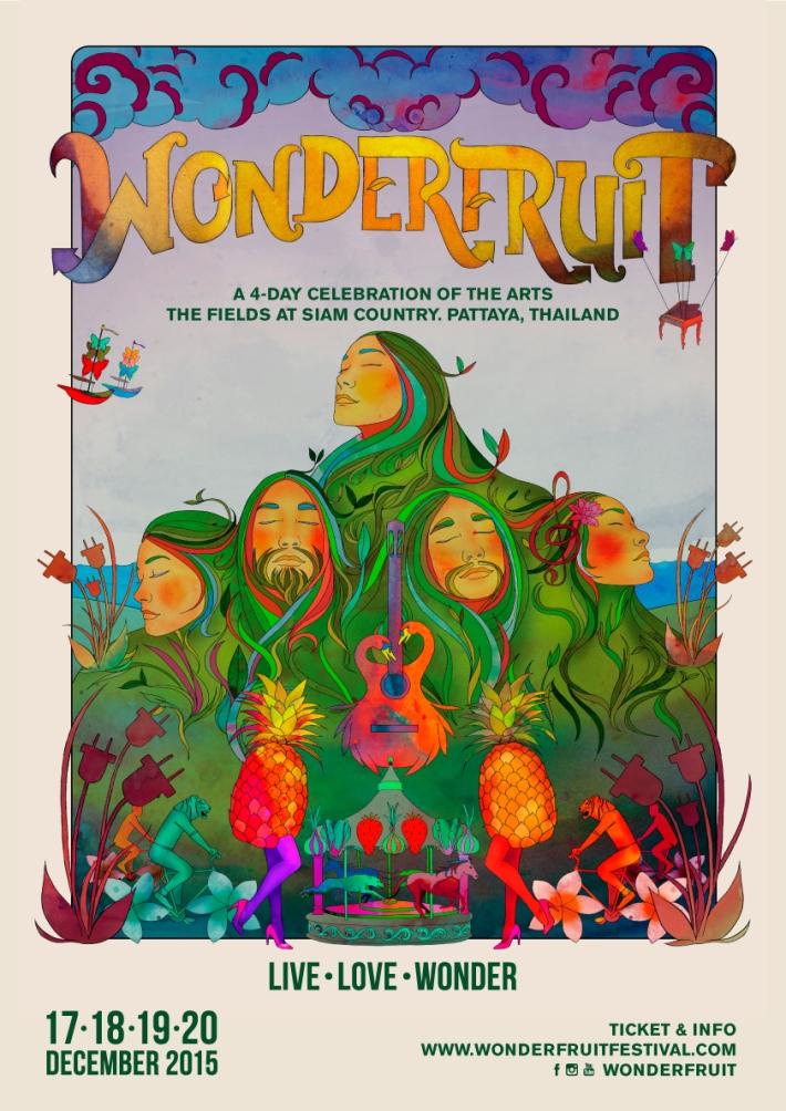 WONDERFRUIT 2015 | DECEMBER 17-20 | THE FIELDS AT SIAM COUNTRY | PATTAYA THAILAND
