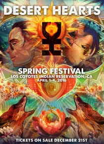 DESERT HEARTS SPRING FESTIVAL 2016 | LOS COYOTES INDIAN RESERVATION | SOUTHERN CALIFORNIA | APRIL 1-4