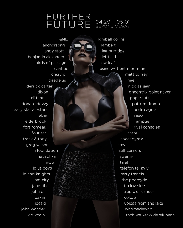 FURTHER FUTURE 2016 - FF002 Full Lineup Poster FULL SIZE